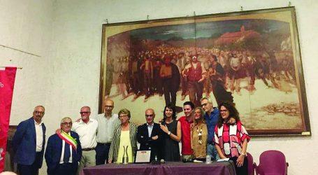 """A Ettore Cau il premio speciale """"Quarto Stato"""""""