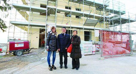 Nuova palestra scolastica a Pietra de' Giorgi
