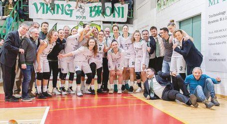 L'impresa delle ragazze della Elcos Broni di Basket A1