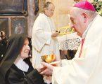 """Nuova abbadessa al monastero """"Mater Ecclesiae"""""""