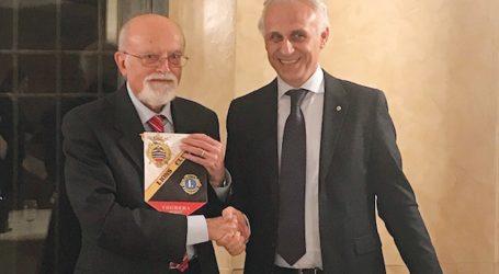 Luigi Accattoli è stato ospite del Lions Club Voghera Host