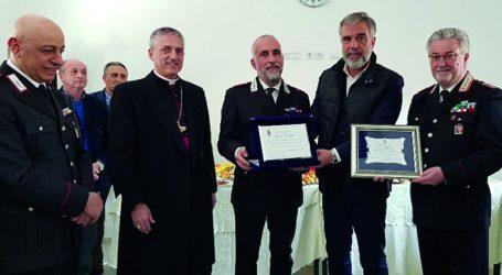 Festa per il pensionamento del luogotenente Mario Giardino