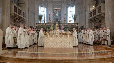 Giovedì Santo: essere unti dallo Spirito
