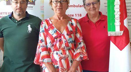 Renata Martinotti direttore sanitario della Cri di Casteggio