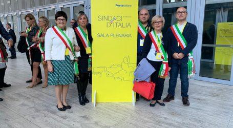 I sindaci a Roma per l'incontro con Poste Italiane