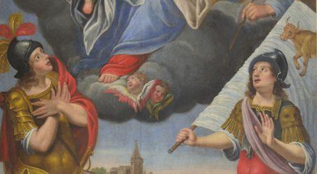 Il quadro dell'Oratorio della Madonna della Neve di Montacuto sarà collocato nel Museo diocesano