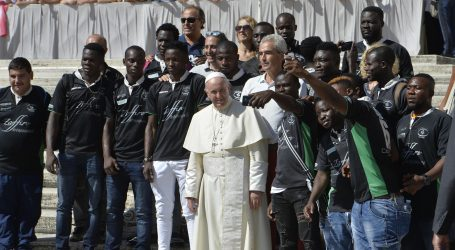 """Papa Francesco: """"Chi è il vero schiavo?"""""""