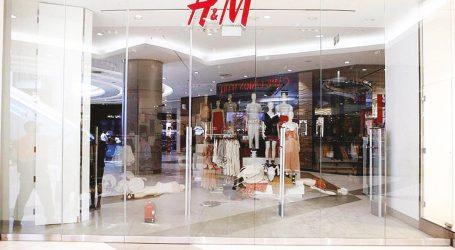 """Al Retail Park il marchio di abbigliamento """"H&M"""""""