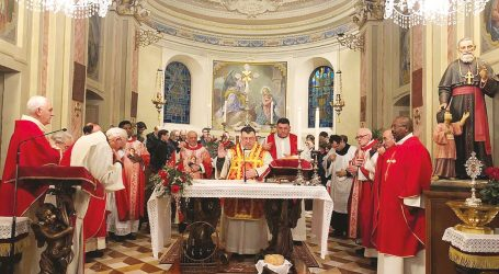 Oliva Gessi ha onorato San Luigi Versiglia