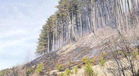 L'Alto Oltrepò va in fiamme