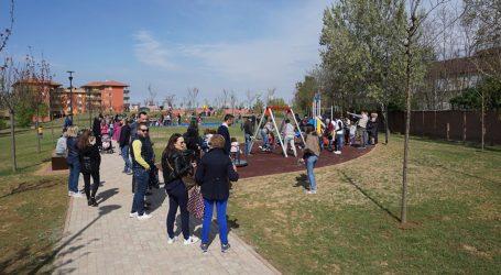 Aperto il nuovo parco nel quartiere Euronovi