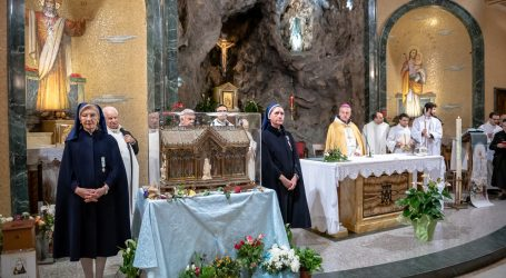 Le reliquie di santa Bernardette ad Alessandria