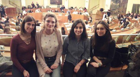 """Quattro studentesse del Peano premiate al concorso """"Diventiamo Cittadini Europei"""""""