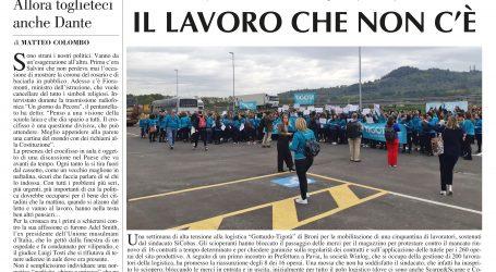 Prima pagina 10 ottobre 2019