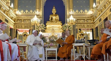 Il viaggio apostolico del Papa in Thailandia e in Giappone è già entrato nella storia