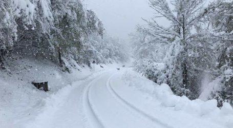 Nevicata da record in alta valle Staffora