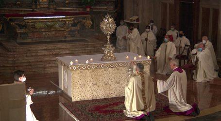 Giovedì 11 e domenica 14 le Messe del Corpus Domini