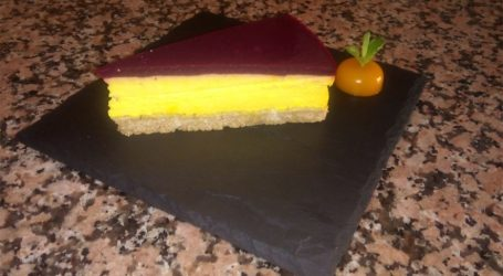 Cheesecake con zafferano