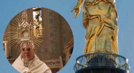 Oggi la benedizione dalla torre della Madonna della Guardia