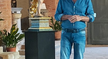 "Restaurata la statua del ""Salvator Mundi"""