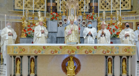 Il card. Angelo Bagnasco alla Madonna della Guardia