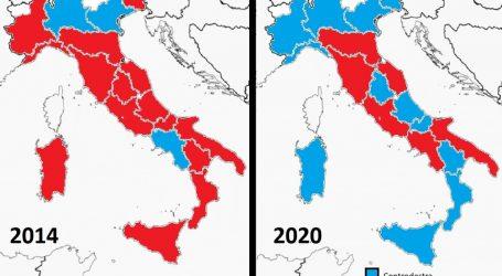 La sfida delle Regioni finisce 3 a 3