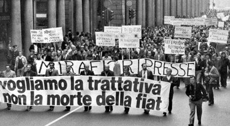 40 anni dopo la marcia dei 40 mila capi Fiat