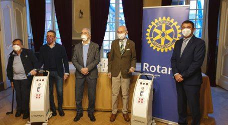 Due sanificatori donati dal Rotary Club