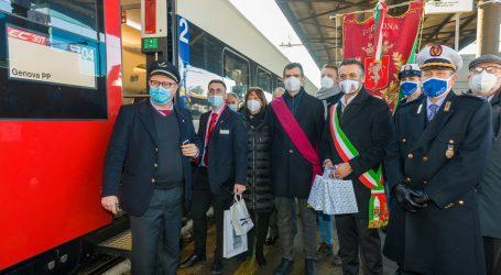 In treno in Svizzera partendo da Tortona