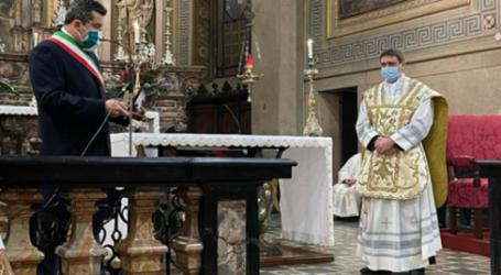 Il saluto delle comunità ai sacerdoti. Stradella: don Cristiano Orezzi