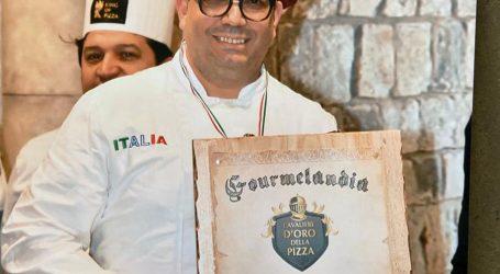 Giuseppe Bianchini cavaliere d'oro della pizza