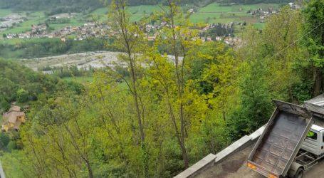 Si sale di nuovo al santuario di Montespineto