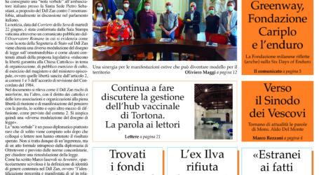 Prima pagina 17 giugno