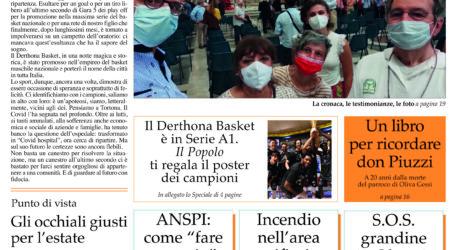 Prima pagina 1 luglio