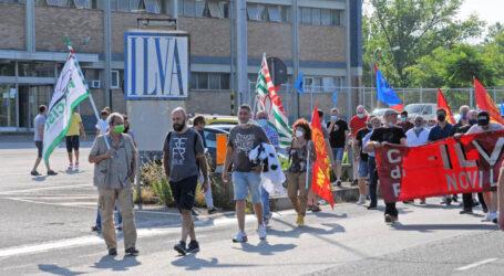 Sciopero dei lavoratori dell'ex Ilva di Novi