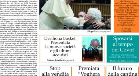 Prima pagina 22 luglio