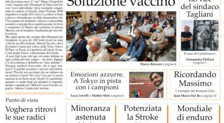Prima pagina 5 agosto