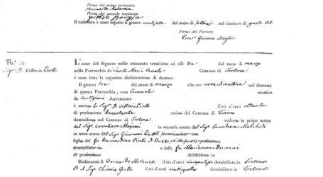 Vittoria Pinto di Barre, una figlia dimenticata