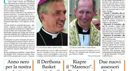 Prima pagina 16 settembre