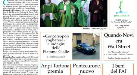 Prima pagina 14 ottobre