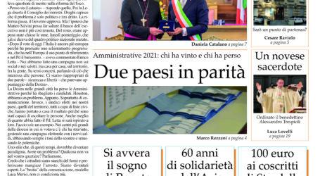 Prima pagina 7 ottobre